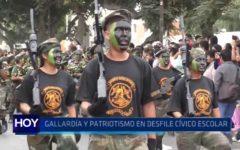 Trujillo: Gallardía y patriotismo en desfile cívico escolar
