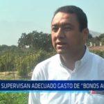 Laredo: Supervisan adecuado gasto de bonos agrarios