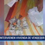 El Porvenir: Intervienen vivienda de vendedor de drogas