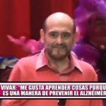 """Edgar Vivar: """"Me gusta aprender cosas porque es una manera de prevenir el alzhéimer"""""""