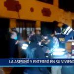 Chiclayo: La asesinó y enterró en su vivienda