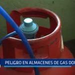 Peligro en almacenes de gas doméstico