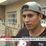 Municipal FC: Genaro Rosario feliz con anotación frente a Tanguche