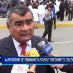 Chiclayo: Autoridad se pronuncia sobre presuntos colegiales asesinos