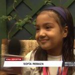 Gimnasia: Sofía Rebaza logró medalla de plata en sudamericano