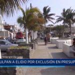 Culpan a alcalde de Trujillo por exclusión de presupuesto regional