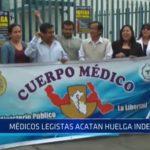 La Libertad: Médicos legistas acatan huelga indefinida