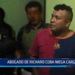 Caso Galindo: Abogado de Richard Coba niega cargos