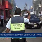 MPT: 59 inspectores se suman a Gerencia de Transportes