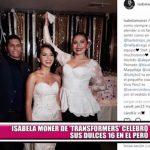 """Isabela Moner de """"Transformers"""" celebró sus 16 años en Perú"""