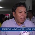 Fortaleza Perú, nuevo partido político regional
