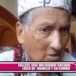 """Murió José Wilindoro Cacique, líder de """"Juaneco y su Combo"""""""
