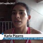 """Karla Pizarro: """"Fue una prueba dura, con un nivel altísimo"""""""