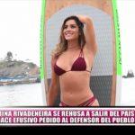 Korina Rivadeneira se rehúsa a salir del país y hace efusivo pedido al defensor del pueblo