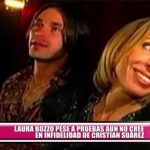 Laura Bozzo, pese a pruebas, aún no cree en infidelidad de Cristian Zuárez