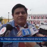 """Regidor Luis Sánchez: """"El trujillano es muy pasivo en sus reclamos"""""""