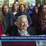 Argentina: Marchan por trabajadores despedidos de multinacional
