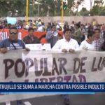 Trujillo se suma a marcha contra posible indulto de Fujimori