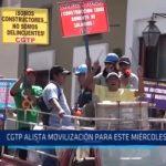 CGTP alista movilización para este miércoles 19 de julio
