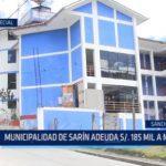 Informe Especial: Municipalidad de Sarín adeuda 185 mil soles a mecánico