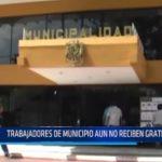 Piura: Trabajadores de municipio aún no reciben gratificaciones
