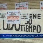 """""""Elidio Espinoza es peor que los huaicos"""""""