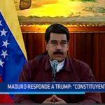 """Maduro responde a Trump: """"Constituyente sí va"""""""