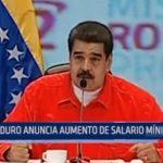 Venezuela: Maduro anuncia aumento de salario mínimo en 50%