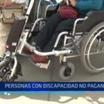Personas con discapacidad no deberían pagar pasaje de acuerdo a ley