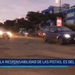 """Alcalde de Trujillo: """"La responsabilidad de las pistas es del Estado"""""""