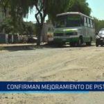 Víctor Larco: Confirman mejoramiento de pistas