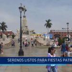 Trujillo: Serenos listos para Fiestas Patrias