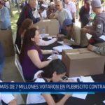 Venezuela: Más de 7 millones votaron en plebiscito contra Maduro