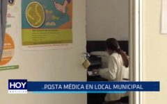 El Trópico: Posta médica funciona en local municipal