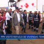 El Milagro: PPK visitó refugio de viviendas temporales