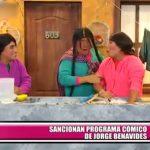 Sancionan programa cómico de Jorge Benavides