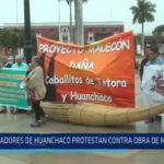 Huanchaco: Temen que proyecto de malecón perjudique turismo
