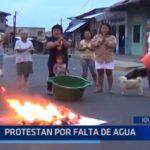 Iquitos: Protestan por falta de agua