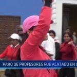 La Libertad: Paro de profesores fue acatado en un 15%