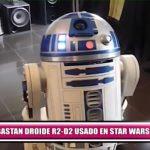 """Subastan droide R2-D2 usado en """"Star Wars"""""""