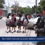 Honduras: Militares vigilan colegios debido a aumento de crímenes