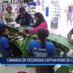 Chimbote: Cámaras de seguridad captan robo de celulares