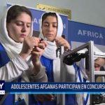 EE.UU.: Adolescentes afganas participan en concurso de robótica