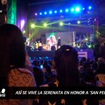 Así se vivió la serenata al patrón de los pescadores, San Pedro, en Chimbote