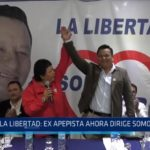 La Libertad: Ex apepista ahora dirige Somos Perú