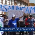 La Libertad: Trabajadores CAS buscan estabilidad