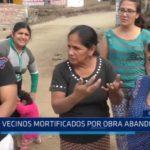 El Porvenir: Vecinos mortificados por obra abandonada