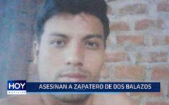 El Porvenir: Asesinan a zapatero de dos balazos