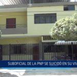 Castilla: Suboficial de la PNP se suicidó en su vivienda