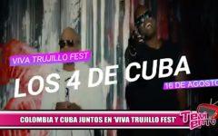 Hoy se presentan Carlos Vives y Los 4 de Cuba en el Viva Trujillo Fest